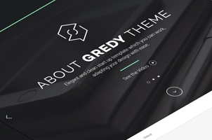 Gredy Psd Startup Template