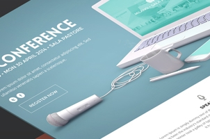 Psd Conference Event Website Template