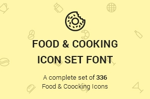 The Icons Font Set :: Food