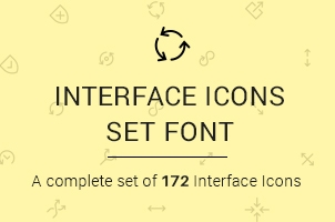 The Icons Font Set :: Interface