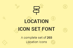The Icons Font Set :: Location
