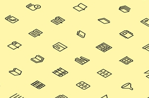 The Icons Set :: Books and Text
