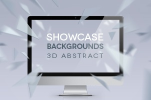 3D Showcase Abstract Backgrounds