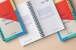 Psd Ringed Paper Notebook Mockup
