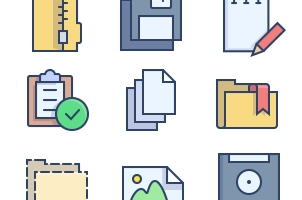 The Color Icons Set :: Archives