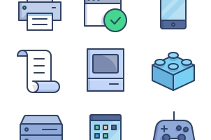 The Color Icons Set :: Hardware
